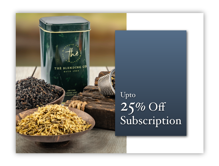 Upto 25% Off Subscription